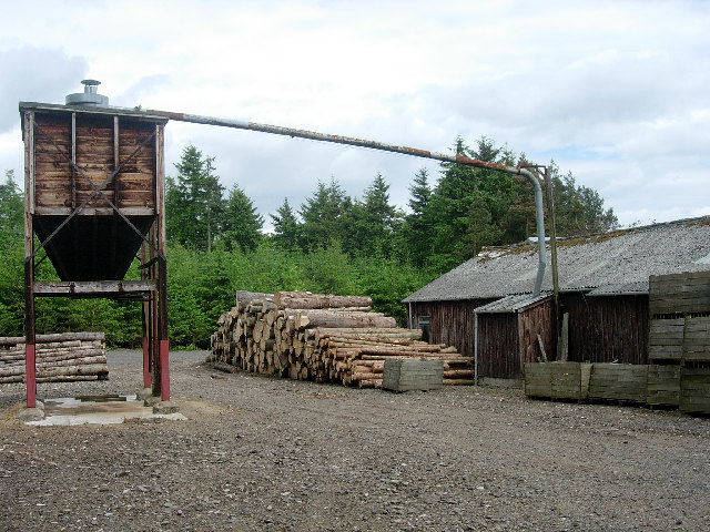 Sawmill, Panmure Estate