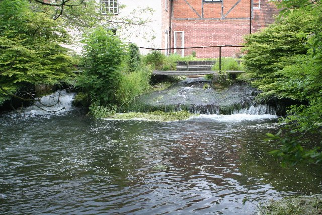 Weir at Longparish