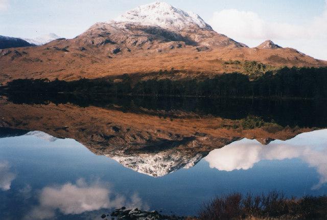 Sgurr Dubh from Loch Clair