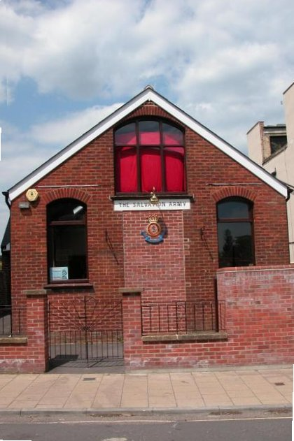 The Salvation Army hall, Swan Street.
