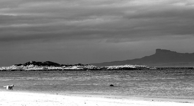 View from Camusdarach beach