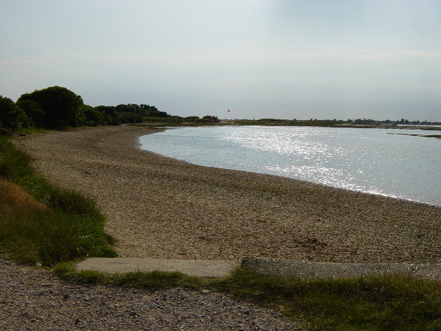 Beach at West Wittering,  and The Spit.