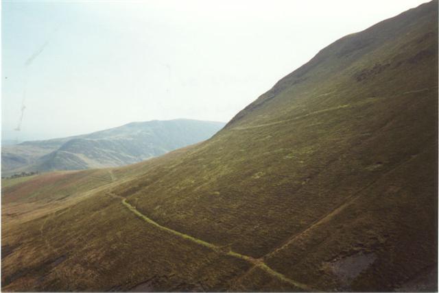 Northern slope of Aiken Knott