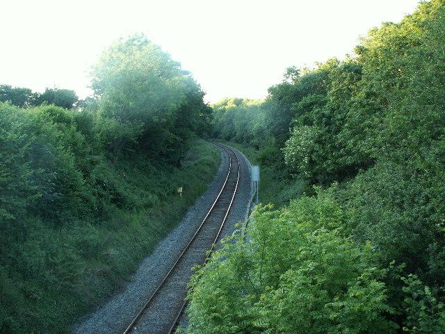 Railway, Llandre