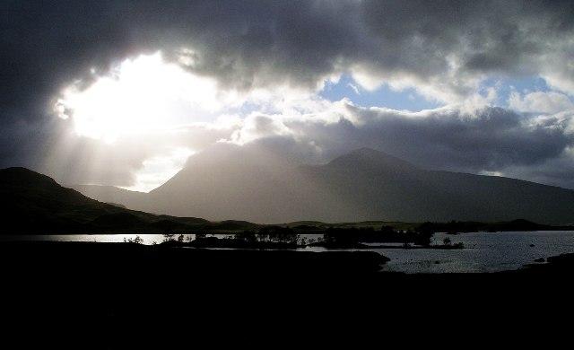 Lochan na h-Achlaise, Black Mount