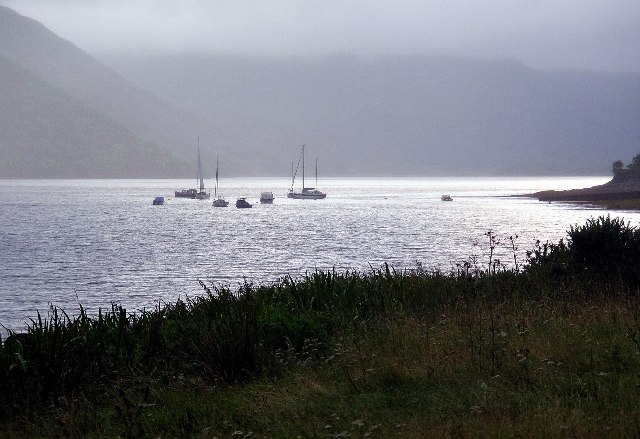 The Sound of Mull from near Fiunary, Morvern