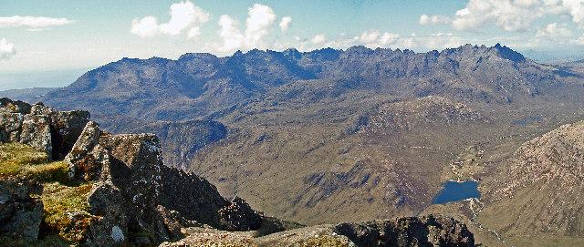 Skye, Cuillin Ridge