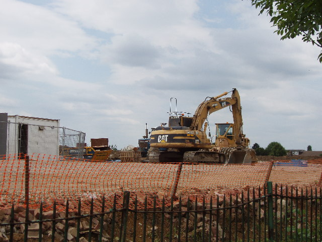 Northala Fields Building Site by the Target Roundabout, Northolt