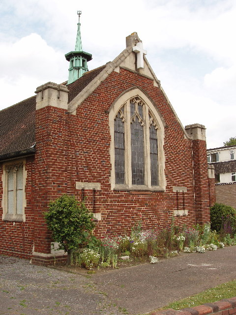 Northolt Methodist Church, near the Target Roundabout