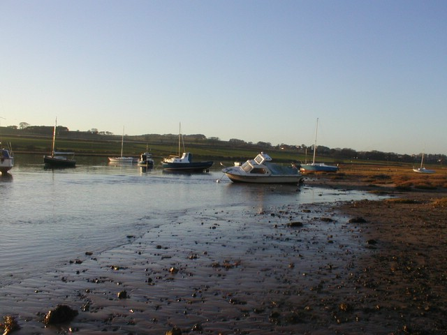 Boats in Alnmouth