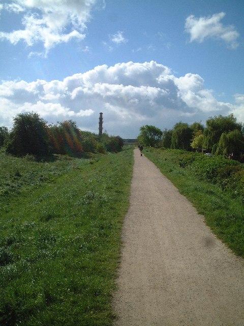 Elevated Pathway, Sandiacre, Notts.