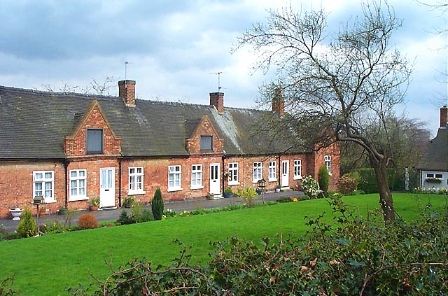 Middlemore Almshouses, Stanton By Dale