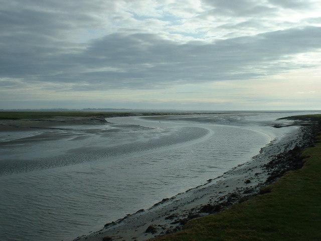 River Cocker Estuary, Cockerham Sands