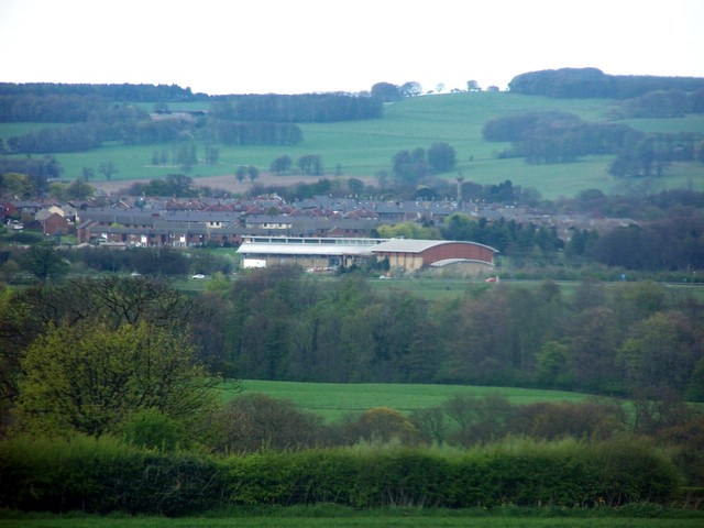 Alnwick from the south