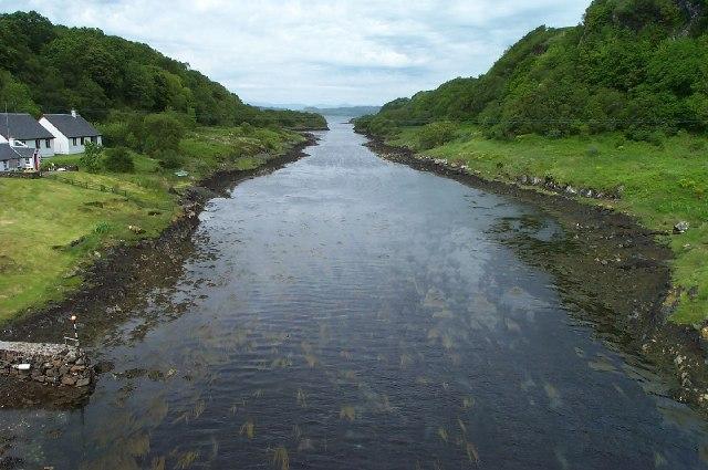 View from Clachan Bridge
