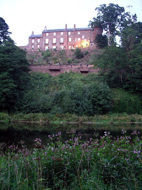 Corby Castle & River Eden
