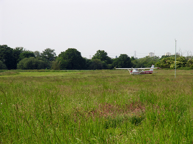 Airfield near Grazely