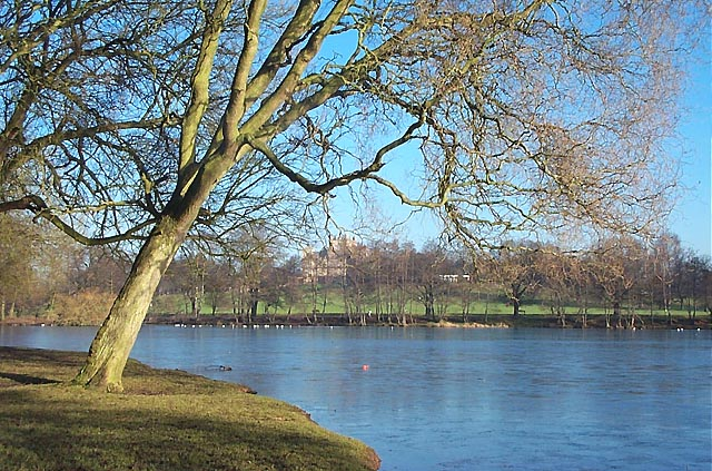 The Lake in Wollaton Park