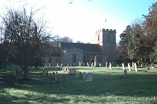 The parish church of St.Mary in Elmley Castle