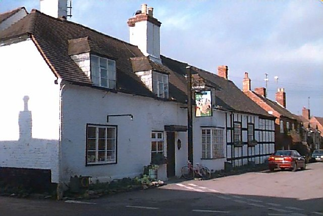 The Queen Elizabeth Public House at Elmley Castle