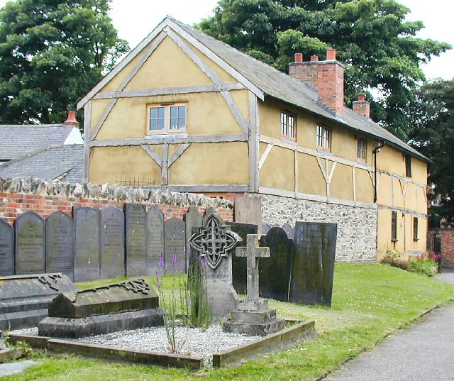 Timber Framed House at Hathern