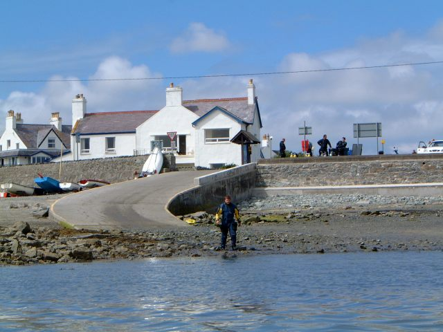 Slipway at Trearddur