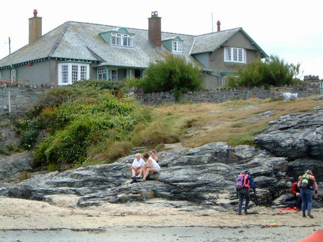 The House next to the slipway at Trearddur