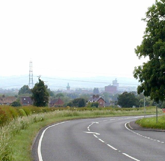 A60 near Cotes