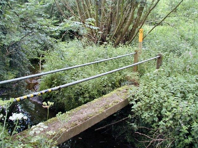 Footbridge across King's Brook