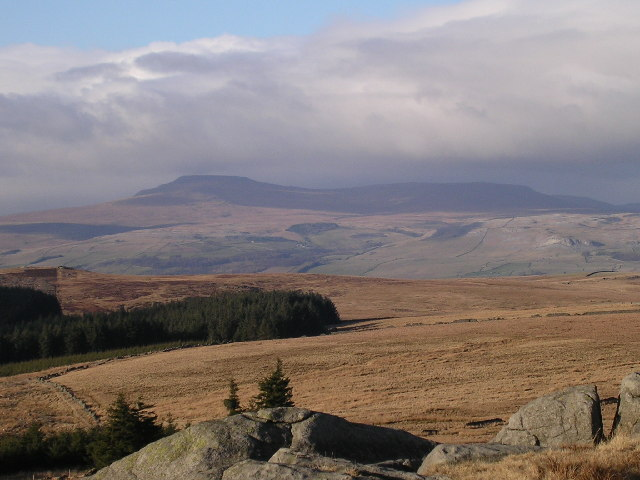 View of Ingleborough from Whelp Stone Crag