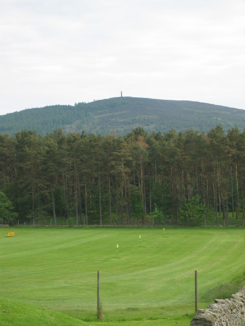 View across to Scolty Hill