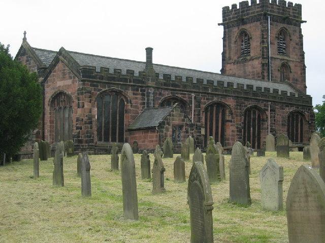 St Mary's church and graveyard, Weaverham