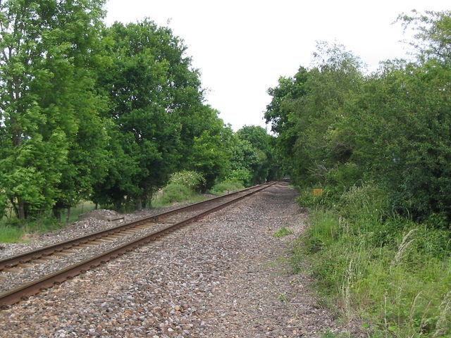 Railway Line near Crampmoor
