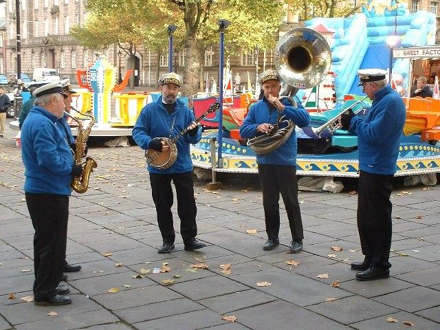 Oompah Band at Preston Market