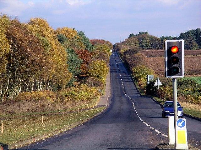 Autumn on the A611