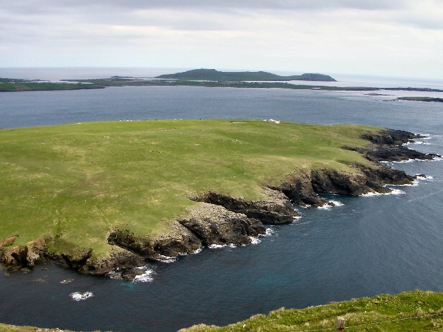 Garths Ness from Fitful Head