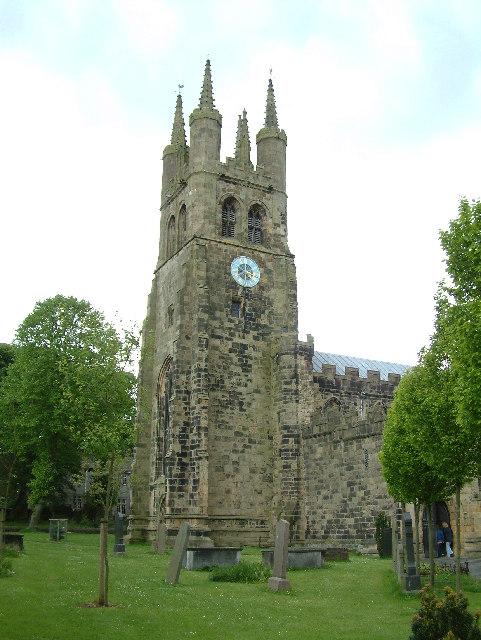 The Parish Church of St. John the Baptist, Tideswell