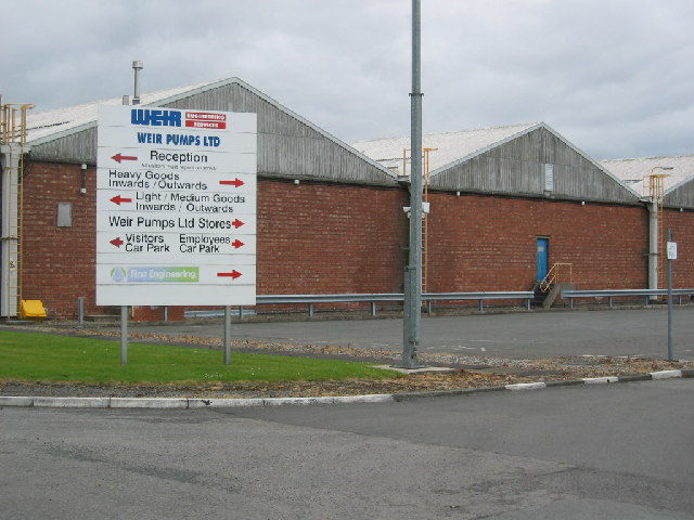 Works, close to Moss Farm, Northwich
