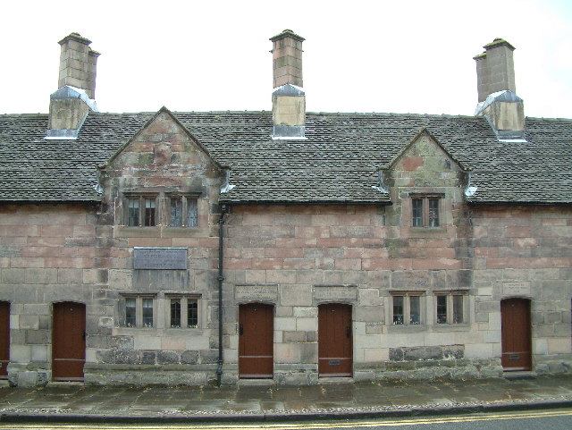 Almshouses, Ashbourne
