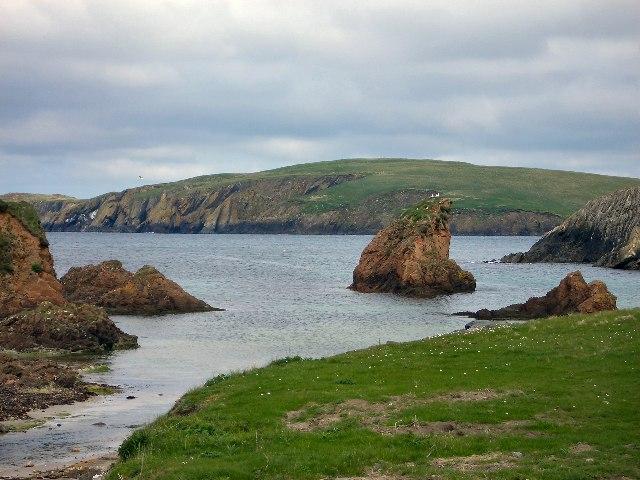 Coastal scenery near Spiggie