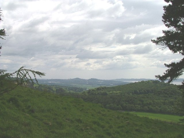 Hills above Abernyte looking East