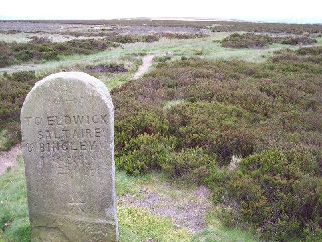 Waymarker, Rombalds Moor