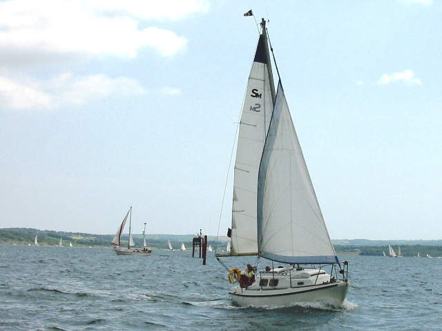 Entering the Beaulieu River