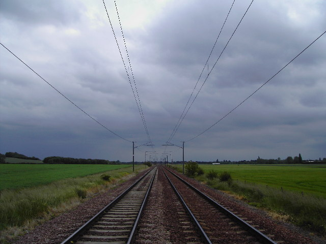 Mainline from Cambridge to London