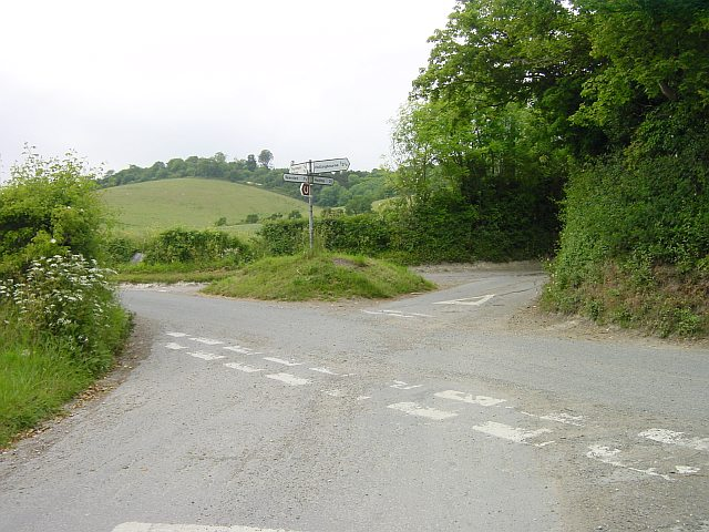 Junction on the Pilgrims Way