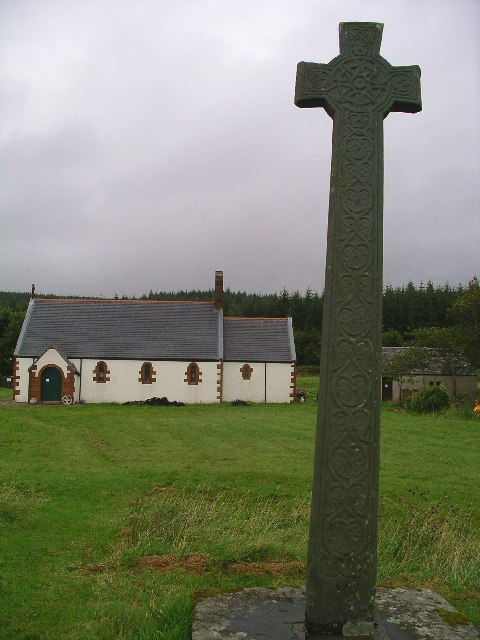 Kiel Church & the Morvern Cross
