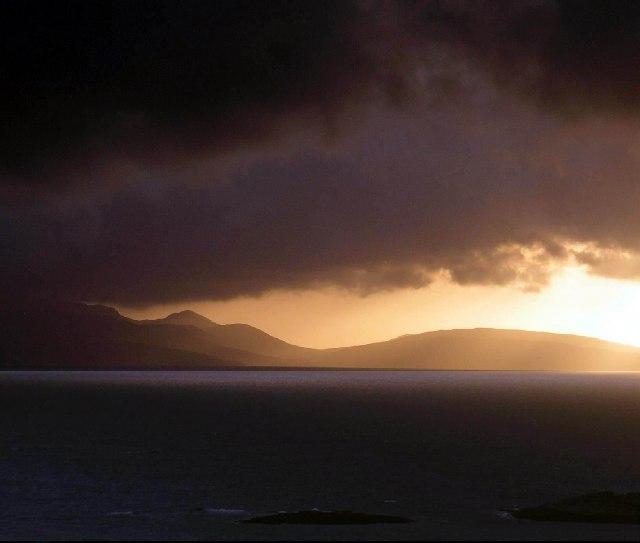 Dark Clouds over Rum