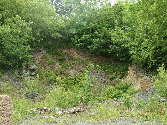 Quarry, near Penrhyngerwin