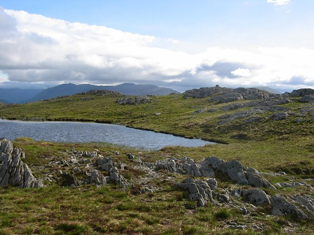 Summit area, Beinn na Cloiche