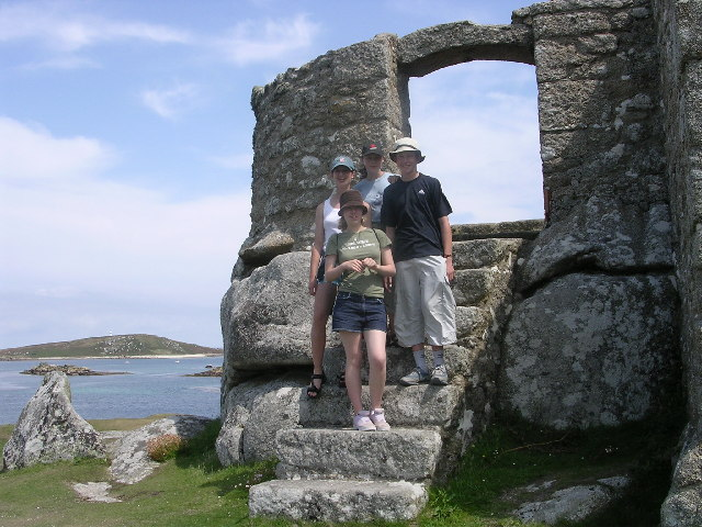 Blockhouse on Tresco